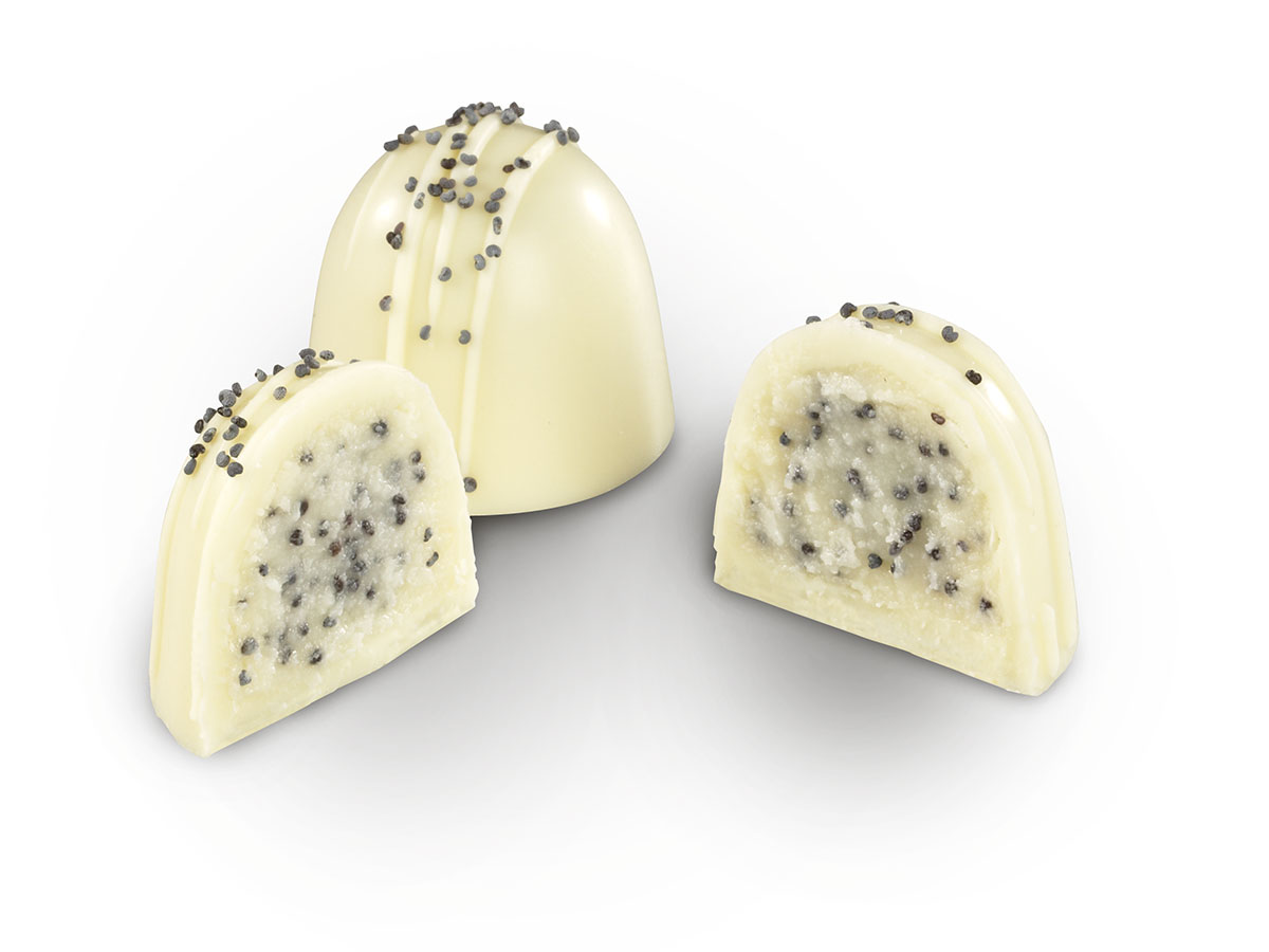 Sour Cream & Poppy Seed Truffles